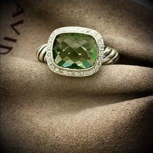 David Yurman Prasiolite Nobleese Ring